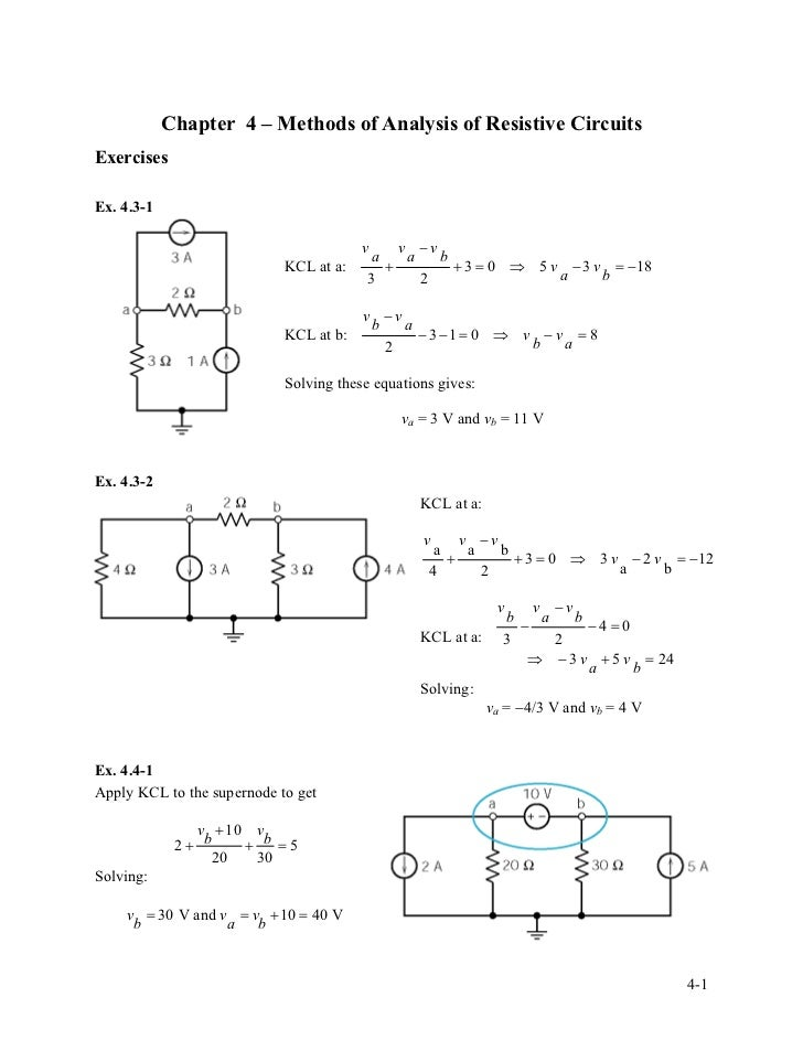 solution manual for introduction to electric circuitsSolution Manual For Introduction To Electric Circuits #11